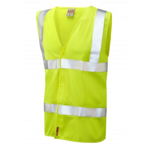 ISO 20471 Class 2 LFS Waistcoat Yellow EN 14116 LFS Waistcoats