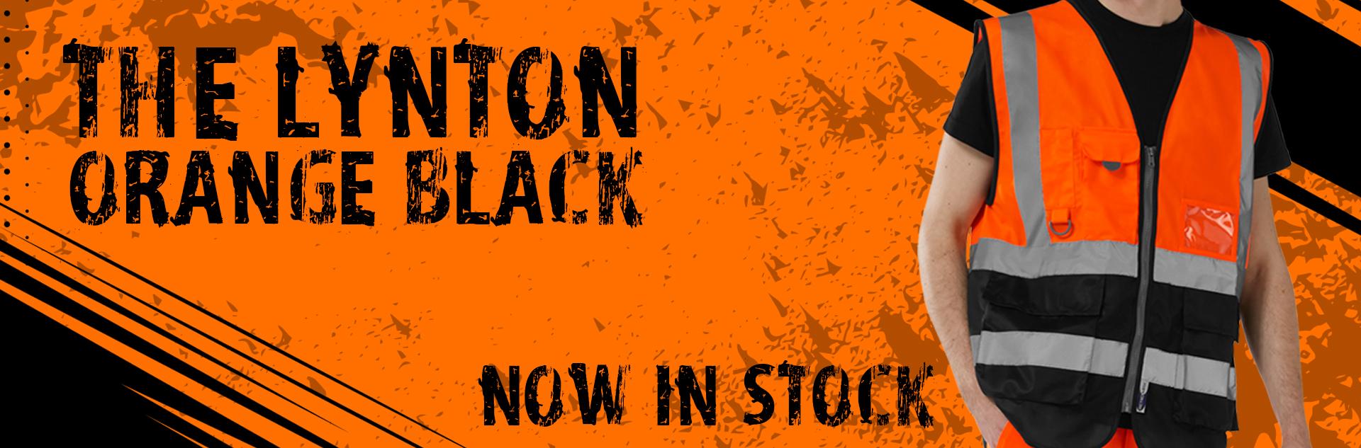 W11 Orange Black